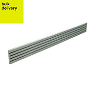 Blooma ODER Grey Finishing profile (T)8mm (W)52mm (L)2200mm