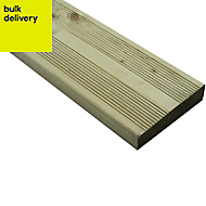 Blooma Nevou Premium Softwood Deck board (T)27mm (W)144mm (L)3600mm