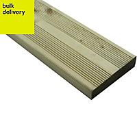 Blooma Nevou Premium Spruce Deck board (L)3.6m (W)144mm (T)27mm