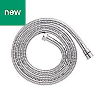 Cooke & Lewis Chrome effect Brass Shower hose 1.75m