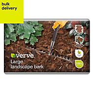 Verve Large Landscape Bark 100L