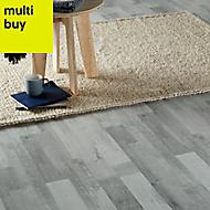 GoodHome Rockhampton Grey Oak effect Laminate flooring, 2.47m²
