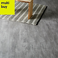 GoodHome Caloundra Grey Oak effect Laminate flooring, 2.47m²