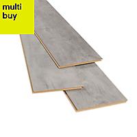 GoodHome Caloundra Grey Oak effect Laminate flooring, 2.47m²