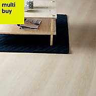 GoodHome Shepparton White Oak effect Laminate flooring, 2.47m²