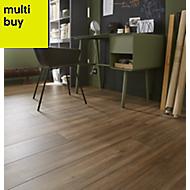 GoodHome Devonport Natural Oak effect Laminate flooring, 2m²