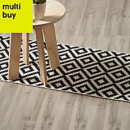 GoodHome Ballapur Grey Oak effect Laminate flooring, 2m²