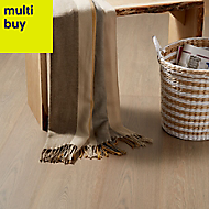 GoodHome Barfold Natural Oak effect Laminate flooring, 2m²