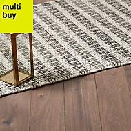 GoodHome Gladstone Natural Dark oak effect Laminate flooring, 2m²