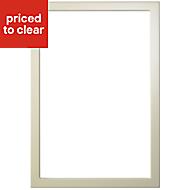 Cooke & Lewis OP4 High gloss Cream Door frame, (W)500mm