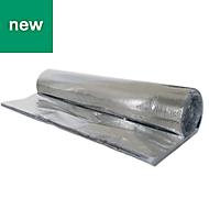 Foil insulation, (L)10m (W)1.5 m (T)25mm