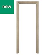 Exmoor Oak effect Internal Door frame, (H)1981mm (W)610mm