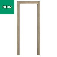 Exmoor Oak effect Internal Door frame, (H)1981mm (W)762mm