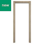 Exmoor Oak effect Internal Door frame, (H)1981mm (W)838mm