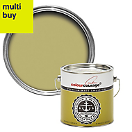colourcourage Mango green Matt Emulsion paint 2.5L