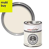 colourcourage Dusty porcelain Matt Emulsion paint 0.13L Tester pot