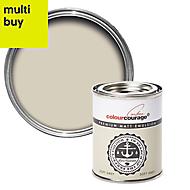 colourcourage Soft grey Matt Emulsion paint 0.13L Tester pot