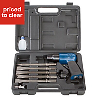 Scheppach 10 Piece Air hammer kit
