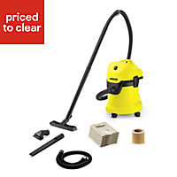 Karcher Tough Vac Corded Wet & dry vacuum cleaner WD3