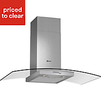 Bosch DWA064W51B Stainless steel Chimney Cooker hood, (W)60cm