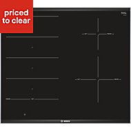Bosch PXE675DC1E 4 Zone Black Ceramic Induction Hob