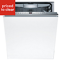 Bosch HDPN 1S643PB Integrated White Full size Dishwasher