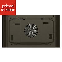 Bosch HBN331E5B Brushed steel Integrated Electric Single Fan Oven