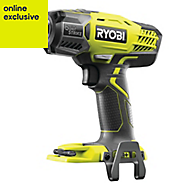 Ryobi ONE+ Cordless 18V Li-ion Brushed Impact driver Without batteries R18QS-0