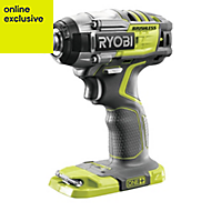 Ryobi One+ Cordless 18V Li-ion Brushless Impact driver Without batteries R18IDBL-0