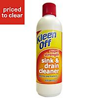 Kleenoff Sink & drain unblocker, 0.5L