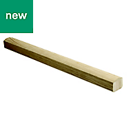 Elements Modern Natural Oak Handrail, (L)3.6m (W)65mm