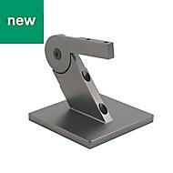 Immix Handrail Polished Gun Metal Connector (L)100mm (H)72mm (W)93mm