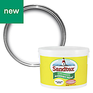 Sandtex Pure brilliant white Masonry paint, 10L