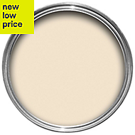 Dulux Luxurious Almond white Silk Emulsion paint 5L