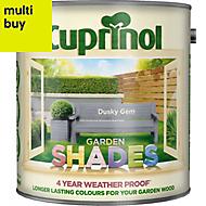 Cuprinol Garden shades Dusky gem Matt Wood paint, 2.5L