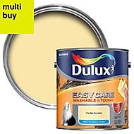 Dulux Easycare Vanilla sundae Matt Emulsion paint 2.5L