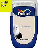 Dulux Standard Natural hessian Matt Emulsion paint 0.03L Tester pot