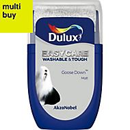 Dulux Easycare Goose down Matt Emulsion paint 0.03L Tester pot