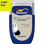 Dulux Easycare Mossy stone Soft sheen Emulsion paint 0.03L Tester pot