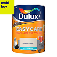 Dulux Easycare Egyptian cotton Matt Emulsion paint 5L