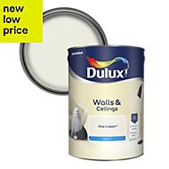 Dulux Fine cream Matt Emulsion paint 5L