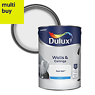 Dulux Rock salt Matt Emulsion paint 5L