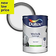 Dulux Rock salt Silk Emulsion paint 5L
