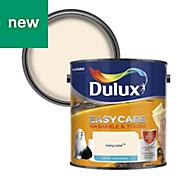 Dulux Easycare Ivory lace Matt Emulsion paint 2.5L