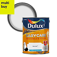 Dulux Easycare Rock salt Matt Emulsion paint 5L