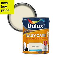 Dulux Easycare Orchid white Matt Emulsion paint 5L