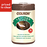 Colron Leather surface wipes, pack of 36