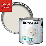 Ronseal Garden White ash Matt Garden paint 0.25L