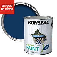 Ronseal Garden Bluebell Matt Garden paint 0.75L