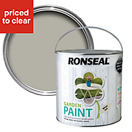Ronseal Garden White ash Matt Garden paint 2.5L